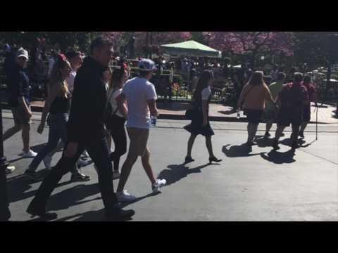 Niall Horan at Disneyland 2017