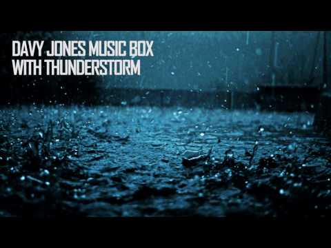 Davy Jones Music Box (with rain sounds)