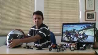 GOPRO INSTALAÇÃO NO CAPACETE - GoPro Helmet Mount