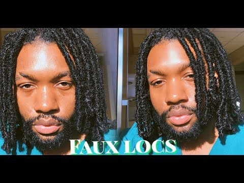 Best Natural Looking Faux Locs For Men Youtube