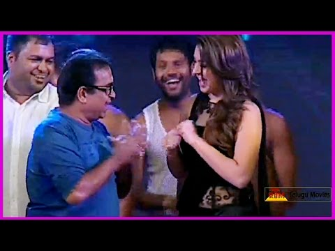 Brahmanandam Dance Performance With Hansika || Notanki Notanki Song || At Power AudioLaunch