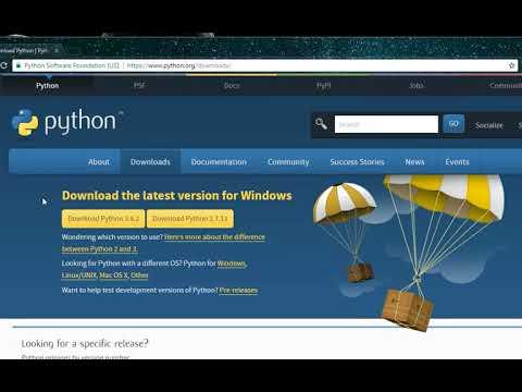 Downlaod python in windows 7 100% works