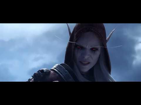 Сильвана VS Болвар / World of Warcraft  Shadowlands (Королева Банши против Короля Лича)