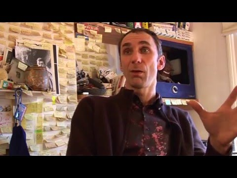Will Self London Perambulator interview out takes - December 2008