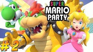 Super Mario Party! Game 2 Part 2! - YoVideogames