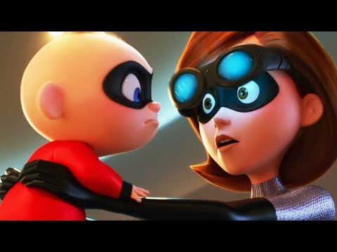Incredible 2 - Jack Jack saves Elastigirl | Superpower