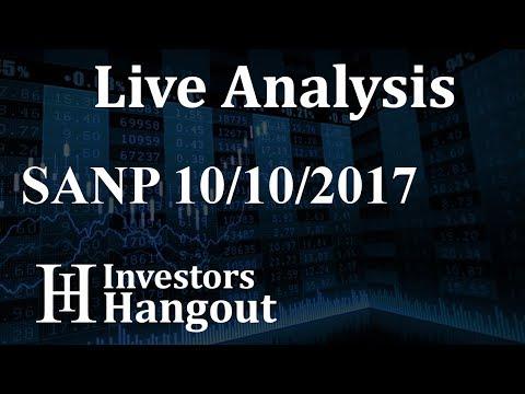 SANP Stock Live Analysis 10-10-2017