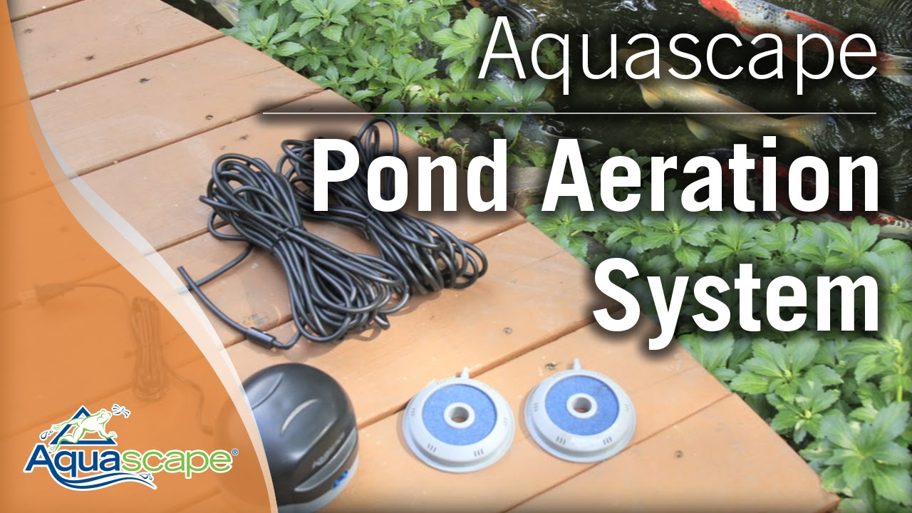 Incroyable Aquascapeu0027s Pond Aeration Systems