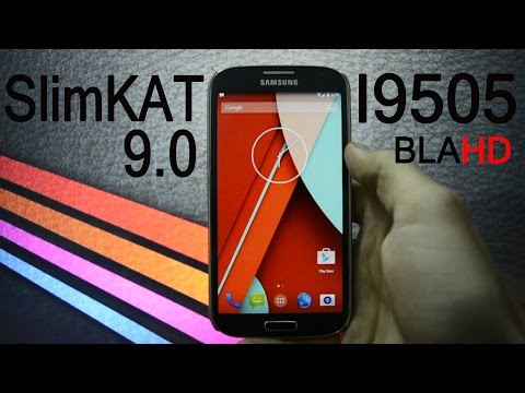 SLIMKAT OFFICIAL FINAL 9.0 OVERVIEW - SAMSUNG GALAXY S4 - HOW TO FLASH - WICKED ANDROID HD