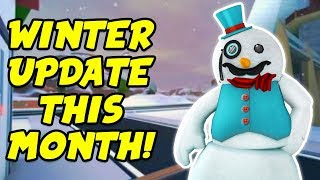 Roblox Jailbreak Live!! WINTER UPDATE THIS MONTH! New Snow Map And Trains?!? | 🔴 Roblox Live