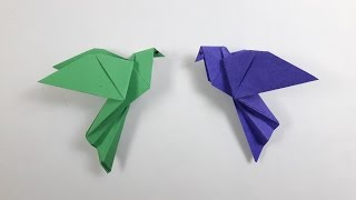 How to make a paper Bird? (Dove)