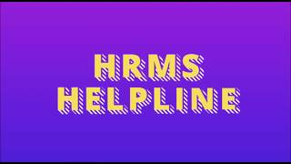 In this short video we will learn how to get the personal user id & password for hrms. watch and please let us know what more on hrms you want k...