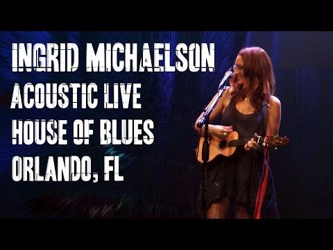 Ingrid Michaelson Acoustic House of Blues Orlando, FL (Full Concert)