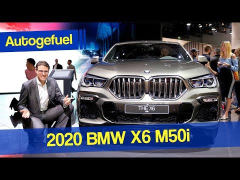 2020 BMW X6 M50i Exterior Interior Tour REVIEW - Autogefuel