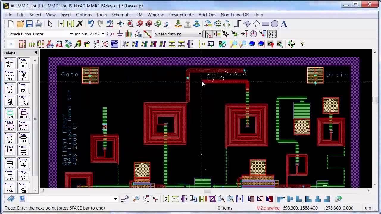 ads layout driven design youtube rh youtube com agilent ads user manual agilent ads circuit simulation manual