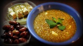 #Суп из чечевицы по-гречески . #Греческая кухня