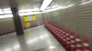くぐってみた 浅草橋地下歩道