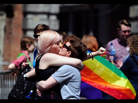 Same sex marriage is now legal in Republic of Ireland