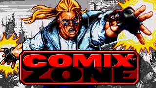 Comix Zone (Sega Genesis, Esperanto)