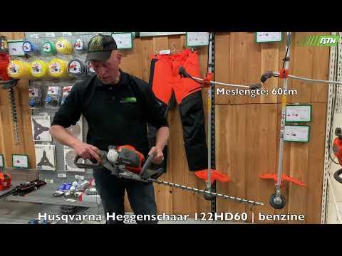 Husqvarna Heggenschaar 122HD60   benzine - BTN de Haas