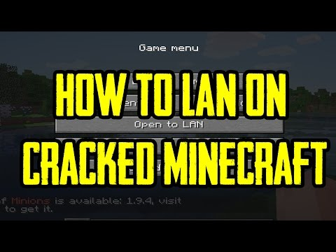 How to play Cracked Minecraft On lan
