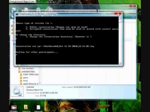 how to make cmd commands in notepad