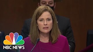 Watch Highlights From First Day Of Barrett's Confirmation Hearing | NBC News NOW