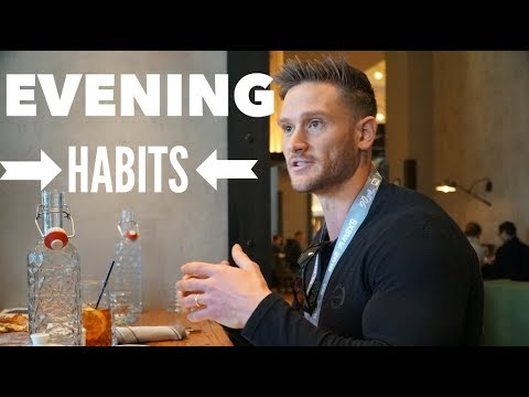 3 Evening Habits to Improve Life & Well Being