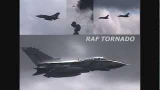 RAF Tornado GR4 fast jet bomber role demonstration