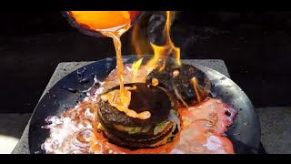 Does This Big Mac Survive A MOLTEN COPPER Bath? | What's Trending Now