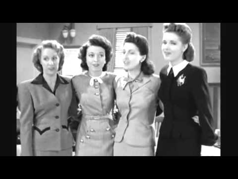 The Music Maids  Maggie Went to Aggie 1944