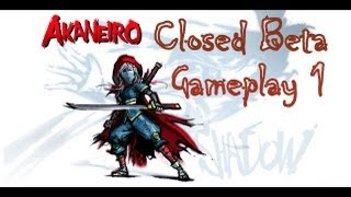 Akaneiro: Demon Hunters - Closed Beta Gameplay 1