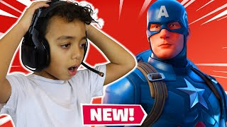 New Captain America in Fortnite Season 3 Anwar Gaming