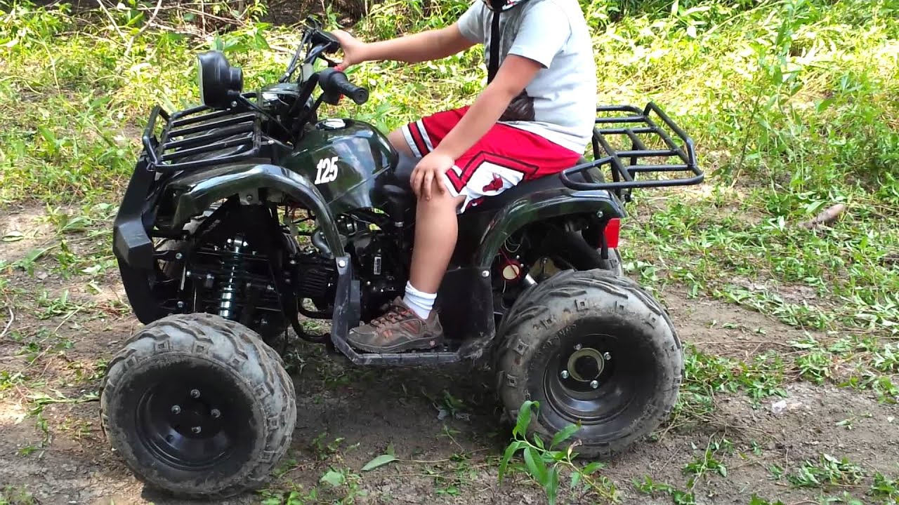 Tao Tao 125cc 135D Mid Size Youth Kids Chinese Atv - YouTube