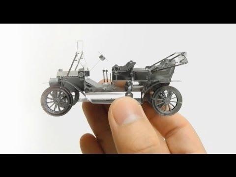 CAR METAL MODEL metallic nano puzzle