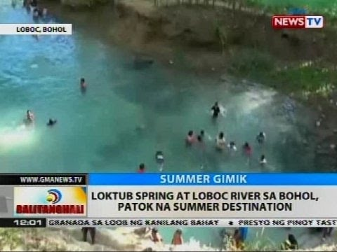BT: Loktub Spring at Loboc River sa Bohol, patok na summer destination