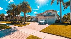 All White Marble Mansion in Davie, FL