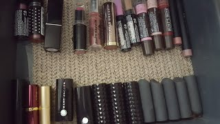 Bullet Lipstick Collection and Declutter