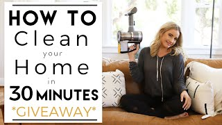 CLEAN YOUR HOME | 30 Minutes or Less | Clean with Me | House to Home