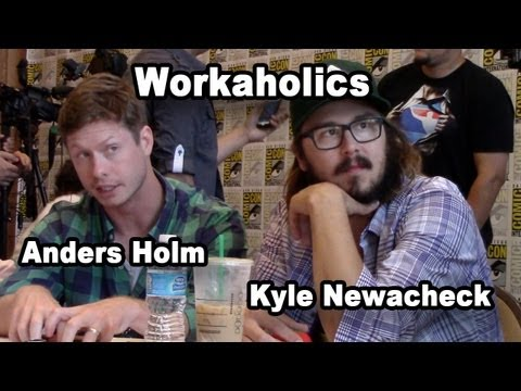 Workaholics - Anders Holm & Kyle Newacheck Interview