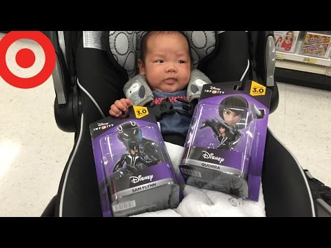 Video Game Shopping with My Family [Scaring Kyle and Tron Legacy]