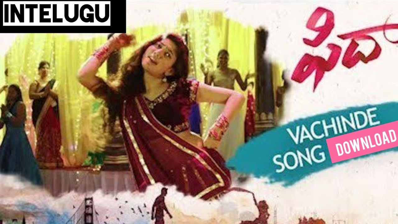 Vachinde song promo | fidaa songs | varun tej, sai pallavi.