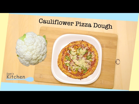 Cauliflower Pizza Crust Recipe  – That Won't crumble In Your Hands