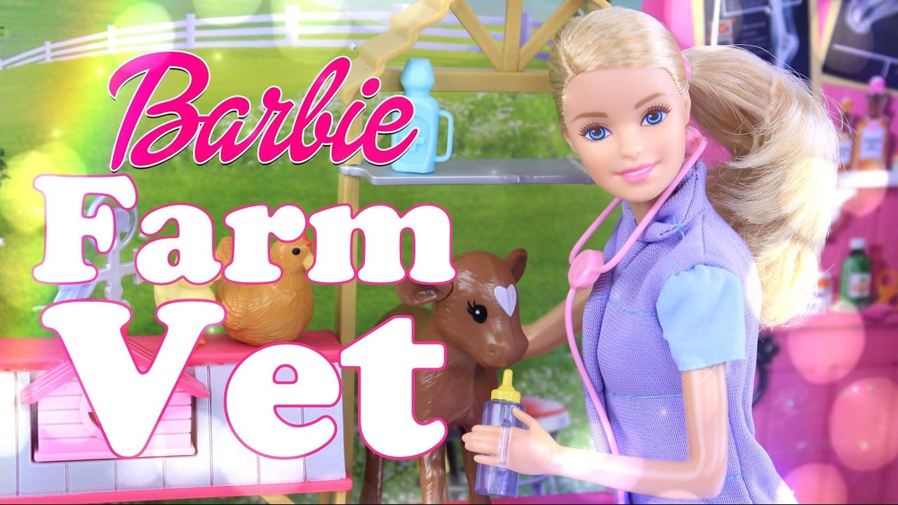 Unbox Daily Barbie Farm Vet Play Set Review Feed
