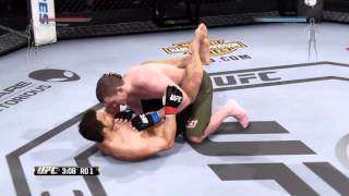 EA UFC Ps4 Gameplay with my friend #1