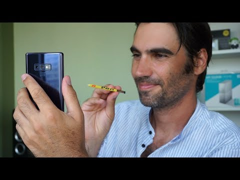 S Pen del Samsung Galaxy Note 9, ¿Qué puedes hacer con él?