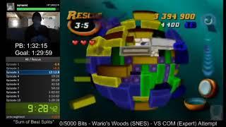 N64 - Tetrisphere - Rescue Speedrun (10-10) - 1:27:45