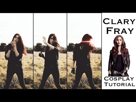 Clary Fray (The Mortal Instruments) Hair, Make-up and outfit tutorial
