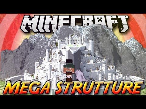 Minecraft ITA - Mod: MEGA STRUTTURE ISTANTANEE - Navi, Incrociatori, Città, Taj Mahal, Minas Tirith