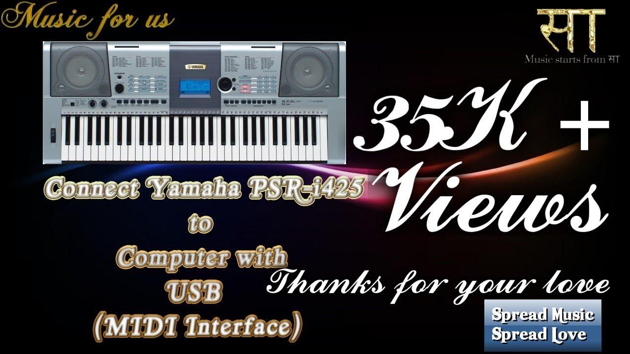 yamaha psr 295 usb midi driver free download